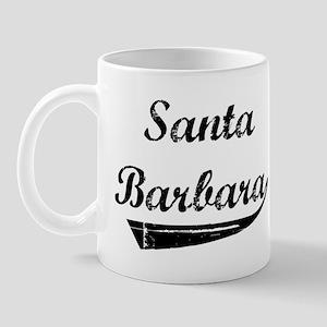 Santa Barbara (vintage] Mug